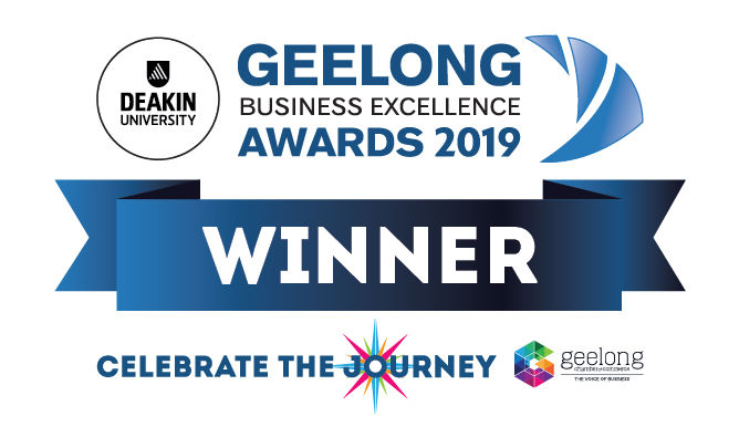 Geelong Business Excellence Award 2019 - Winner